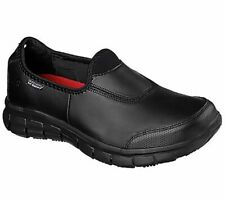 WOMENS SKECHERS Work Relaxed Fit®: SURE TRACK slip resistant work walking shoes