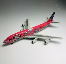"Tomy 1/400 Japan Airlines JAL ""DREAM EXPRESS ""SWEET"" Disney 747-466D JA8904"
