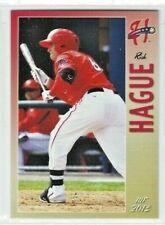 2013 Harrisburg Senators (Double-A Washington Nationals) Rick Hague
