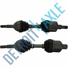 2 Front LEFT And RIGHT CV Drive Shaft Axle 97-2005 CHEVY S10 BLAZER NON ZR2