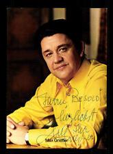 Max Grießer Autogrammkarte Original Signiert # BC 58554
