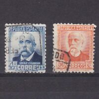 SPAIN 1931, Sc# 522-523, Part set, Used
