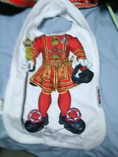 NEW JUST ADD A KID CUTE BABY'S   DESIGN BIB  beef eater  - ONE SIZE