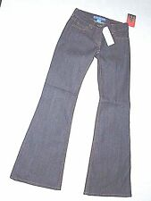 FCUK women's slim flare dark blue JEANS size 0 retail $108