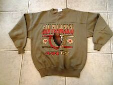 San Francisco 49ers Vintage Brown Sweatshirt L NFL Football