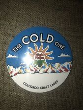 HIGH HOPS BREWERY Windsor CO Cold One Craft Lager Magnet Tap Handle Label Fridge