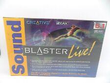 Sound Blaster Live 5.1 NEW SEALED Model SB0060US