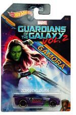 2017 Hot Wheels Marvel Guardians of the Galaxy Vol.2 Gamora #4 Scorcher