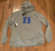 Men's Nike Black Duke Gray Devils Circuit Logo Primary Hoodie NWT 3XL
