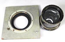 Voigtlander 16.5in (420mm) f4.5 Heliar No.7 Barrel Lens w Shutter Board  #66993