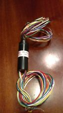 "Slip Ring, Techtron Corporation Part Number SRA 73705, 12 Conductor, 24"" Leads"