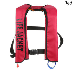 Manual Water Sport Jacket Inflatable Life Vest Swimming Wear Safety Swimsuit