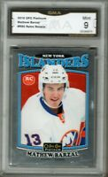 GMA 9 *Mint* MATTHEW BARZAL 2016/17 OPC O-Pee-Chee Platinum *RETRO* ROOKIE Card!