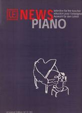 UE 31 281 NEWS PIANO selection for teacher / sélection pour l'enseignant