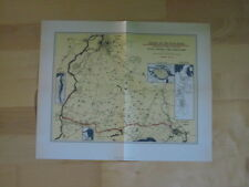 Lübeck Archive 5 commerce 5015e Elbe trave Canal fac-similé plan