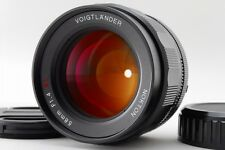 Mint+++ Voigtlander Nokton 58mm F1.4 MF SL II Lens for Nikon Ai-s from Japan 404