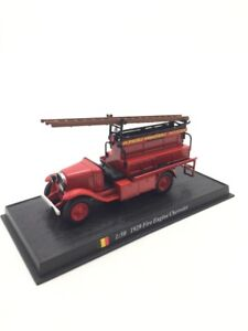 Chevrolet Fire Engine 1/50 n62/150 Trucks Of Firefighters Of Monde Base Fascicle
