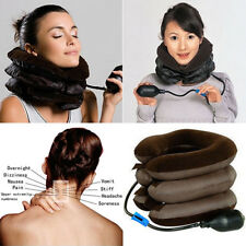 KE_Useful Cervical Neck Traction Device Shoulder Pain Relax Brace Support Pillow
