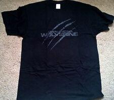 Marvel Oficial de Promo Wolverine Origins camiseta Grande L Negro