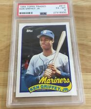 Ken Griffey Jr. 1989 Rookie Psa Graded 6 #41T Topps Traded