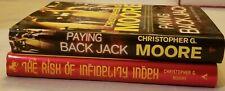 Lot Christopher G Moore Books Series Vincent Calvino #9,10