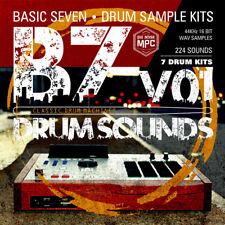 Basic Seven Drum Sounds v.01   USB Flash Drive