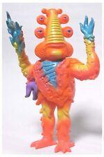 "LORBO Orange by Jim Woodring - 7"" tall soft vinyl figure - bagged w/ Header Card"
