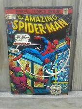 THE AMAZING SPIDERMAN AND THE GOBLIN METAL WITH RAISED LETTERS 13 BY 9 INCHES
