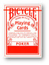 Bicycle Poker Seconds Spielkarten ROT Poker Spielkarten Cardistry
