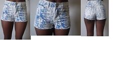 Unbranded Animal Print Mid Rise Shorts for Women