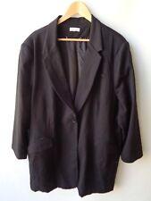 Autograph long black jacket size 22 long sleeves