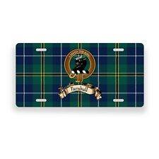 Turnbull Scottish Clan Hunting Tartan Novelty Auto Plate Tag License Plate