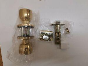 Touchpoint Hotel Door Knob set - Bathroom Set - Satin Brass, Freepost