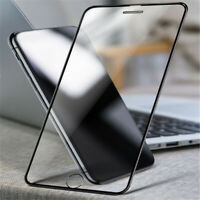 HOT For IPhone X XS MAX XR 8 7 6 Full Cover Real Tempered Glass Screen Protector