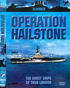 The War File DVD Seapower Operation Hailstone - Military Documentary EDU