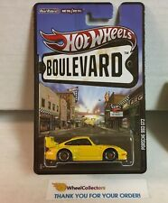 Porsche 993 GT2 * YELLOW * Hot Wheels Boulevard * G3