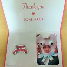 SNSD Girls' Generation YOONA FANMEETING PHOTOCARD BADGE set fan meeting card