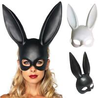 Sexy Rabbit Ears Mask Bunny Girl Face Mask Prom Party Masquerade Costume HOT