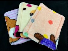 2 X Washable Soft Fabric Cage Pad Bed Sugar Glider Rabbit Guinea Pig Small Pet S