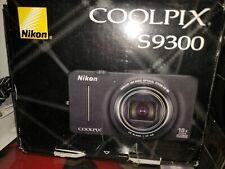 Nikon Coolpix S9300 16.0MP 3''Screen WIDE18x Zoom Digital Camera, Brand New