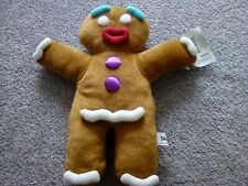 """Gingerbread Man - GINGY - Shrek The Musical 13"""" Soft Plush Puppet Toy"""