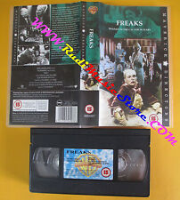 VHS film FREAKS Wallace Ford Leila Hyams Tod Browning inglese(F142)no dvd