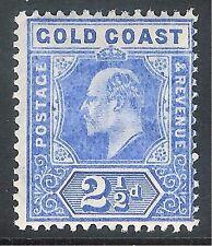 Gold Coast 1907 blue 2.5d mint SG62