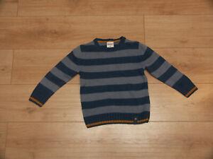 Pocopiano - gestreifter Pullover -  Gr. 116