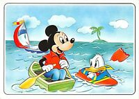 B99084 donald surfing mickey mouse with boat  disney