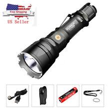 KLARUS XT12GT Tactical LED Flashlight USB Rechargeable 1600LM CREE XHP35 Light