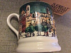 BNIB New Emma Bridgewater Cities of Dreams Half Pint Boxed Mug - Barcelona