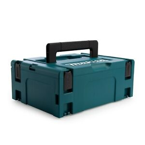 Makita Plastic Carry Case Type 2 MAKPAC Connector Tool Box With Drill Inlay