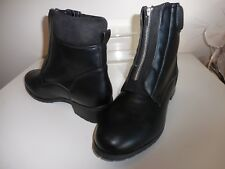 Black Ankle Boots Size 6 Wide Fit ( EEE ) New With Tags From Evans RRP £50