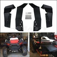 1 Set Fender Flares Mud Flaps For 15-17 Polaris RZR-S 900 & 2016 RZR-S 1000